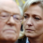 FRANCE-Marine-Le-Pen-R-listens-to-her-father-Frances-far-right-Front-national-partys-FN-president-and-presidential-candidate-Jean-Marie-Le-Pen-as-he-delivers-a-speech-in-his-house-17-March-2007--150x150
