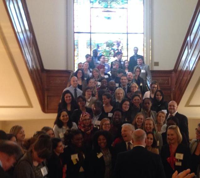 2014-10-30 diner avec les étudiants ÉNAP