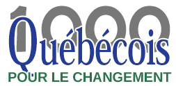 1000 Québécois pour le changement