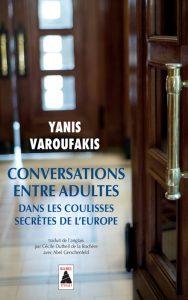 Varoufakis, Conversatins entre adultes