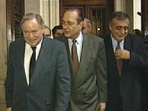 Jacques Chirac, Jacques Parizeau