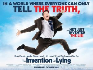 The invention of lying, Ricky Gervais
